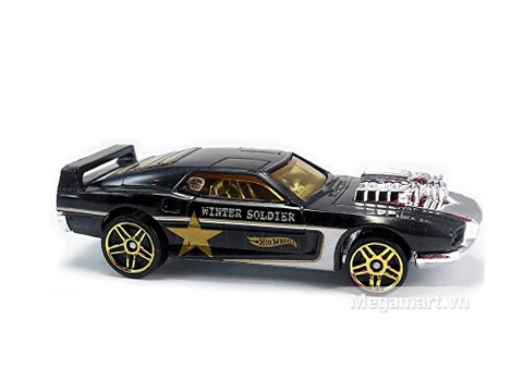 Hot Wheels Captain America Riveted nổi bật