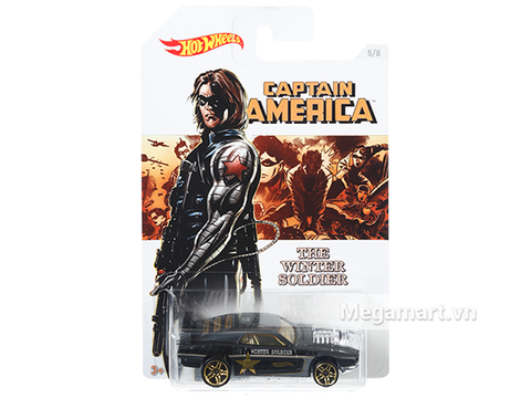 Hot Wheels Captain America Riveted chính hãng
