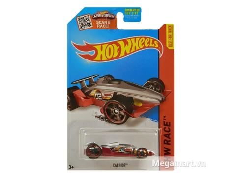 Vỏ hộp mô hình xe Hot Wheels Carbide