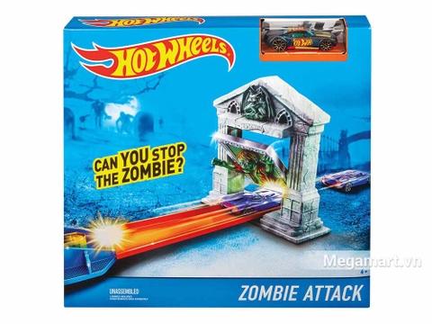 Hình ảnh vỏ hộp bộ Hot Wheels Cuộc tấn công của Zombie