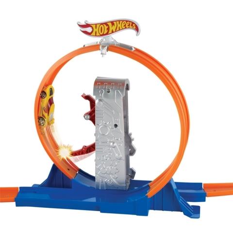Hot Wheels Vòng tròn siêu tốc cho bé tha hồ sáng tạo