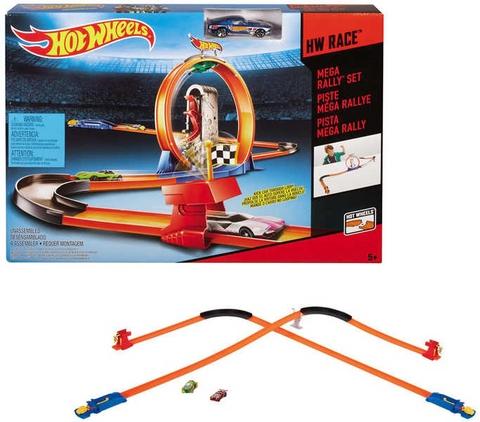 Hot Wheels Vòng tròn siêu tốc mang đến sân chơi đầy thách thức cho bé
