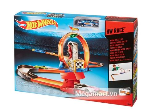 Hình ảnh vỏ hộp bộ Hot Wheels Vòng tròn siêu tốc