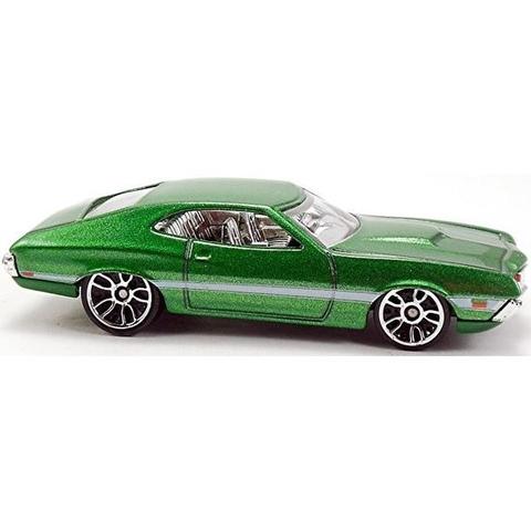 Mô hình xe Hot Wheels Fast & Furious 72 Ford Grand Torino Sport với thiết kế đầy ấn tượng