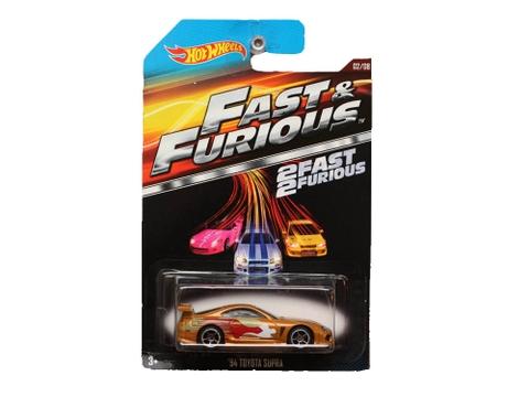 Hộp đựng mô hình xe Hot Wheels Fast & Furious 94 Toyota Supra
