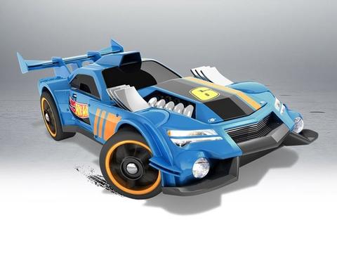 Mô hình xe Hot Wheels GT Hunter giúp phát triển tư duy và rèn luyện kỹ năng cho bé