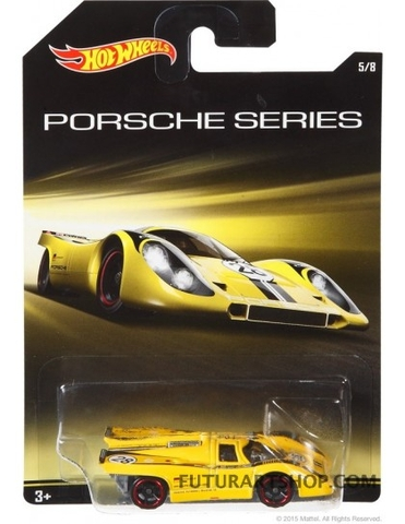Vỏ hộp bộ mô hình Hot Wheels Porsche 917K