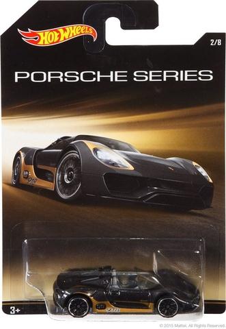 Vỏ hộp mô hình xe Hot Wheels Porsche 918 Spyder