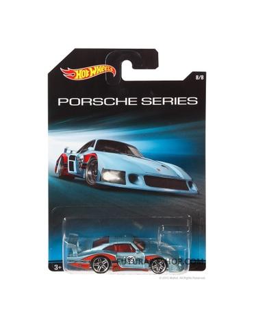 Vỏ hộp mô hình xe Hot Wheels Porsche 935-78