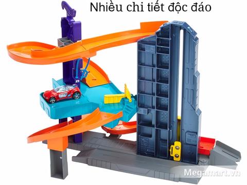 Hot Wheels Tháp đua - đồ chơi cho bé yêu xe