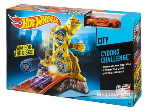 Vỏ hộp Hot Wheels Thử thách người máy
