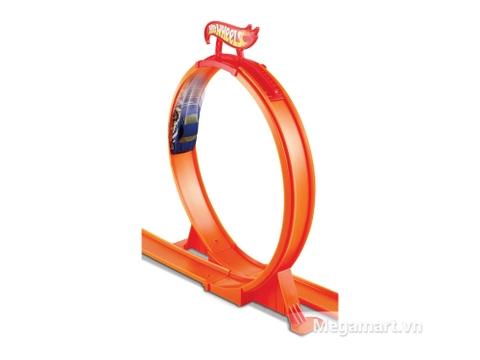 Bộ đồ chơi Hot Wheels Vòng tròn nhào lộn làm từ nhựa dẻo tuyệt đối an toàn