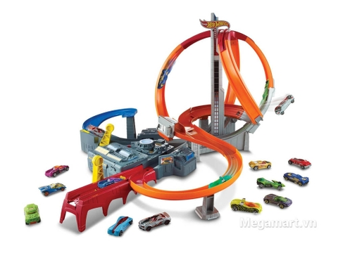 Thiết kế ấn tượng của Hot Wheels Vòng xoắn thần tốc