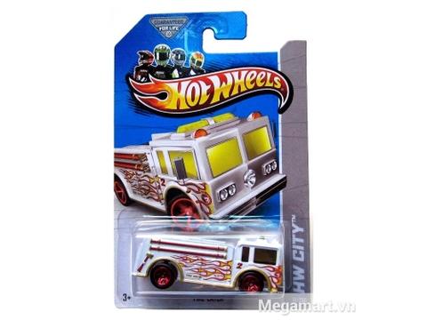 Hộp đựng bên ngoài Hot Wheels Xe đổi màu Fire-Eater