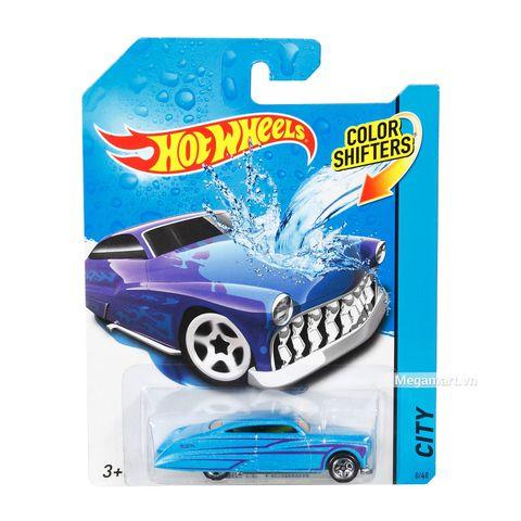 Hot Wheels Xe đổi màu Purple Passion-BHR52 - Xe đổi màu hình ảnh từ bên ngoài