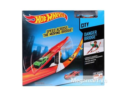 Hot Wheels Khám phá báu vật Danger Bridge - Ảnh vỏ hộp sản phẩm