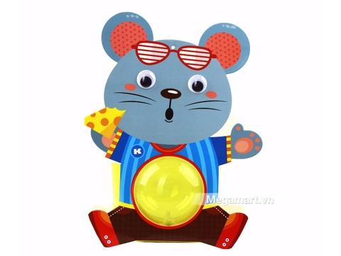Kibu Lồng đèn thú xinh - Chuột chăm chỉ
