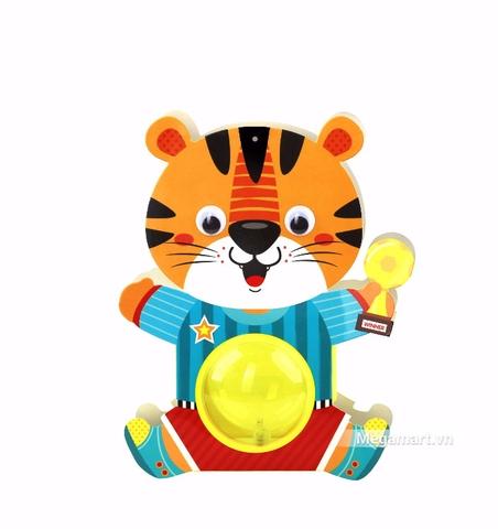 Kibu Lồng đèn thú xinh - Cọp cầu thủ