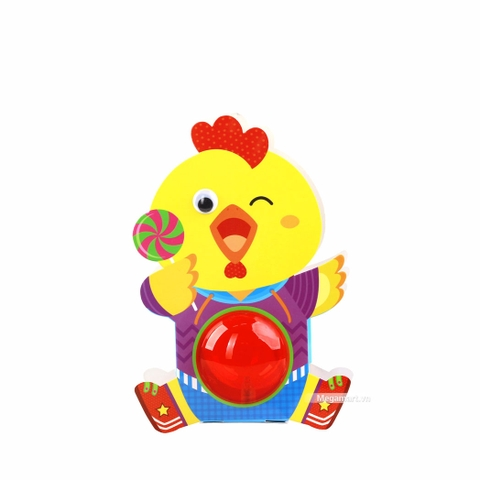 Kibu Lồng đèn thú xinh - Gà kẹo ngọt
