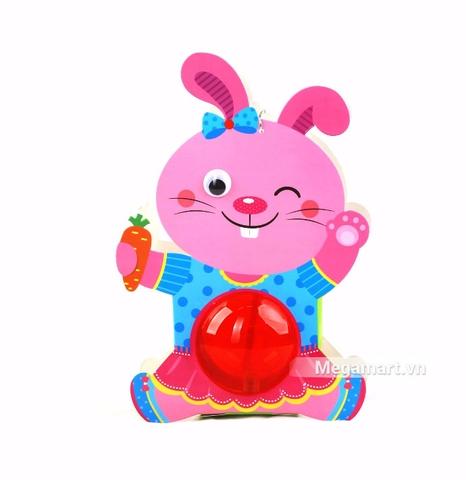 Kibu Lồng đèn thú xinh - Thỏ hồng xinh