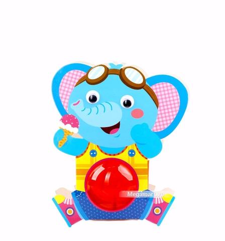 Kibu Lồng đèn thú xinh - Voi ăn kem