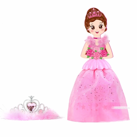 Kibu Lồng đèn công chúa ước mơ - hồng hoa