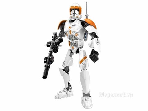 Mô hình Lego Star Wars 75108 - Chỉ huy Commander Cody huyền bí