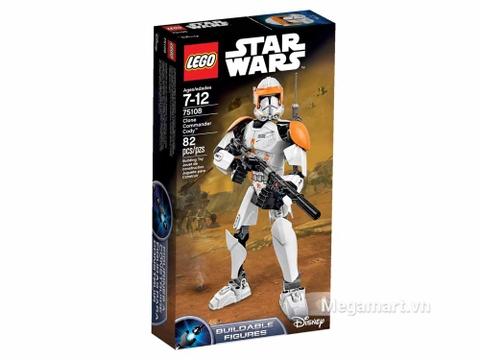 Vỏ hộp đồ chơi Lego Star Wars 75108 - Chỉ huy Commander Cody