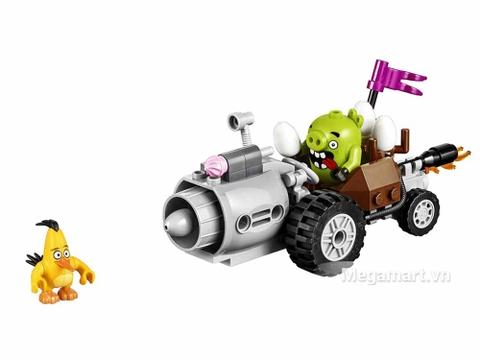 Mô hình bộ sản phẩm Lego Angry Bird 75821 - Cuộc Tẩu Thoát Của Siêu Trộm