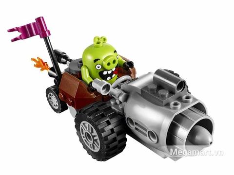 Lego Angry Birds 75821 - mô hình xe chiến của lợn xanh
