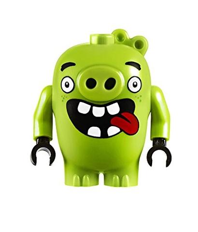 Lego Angry Birds 75821 - nhân vật lợn xanh luôn đối đầu với Chuck