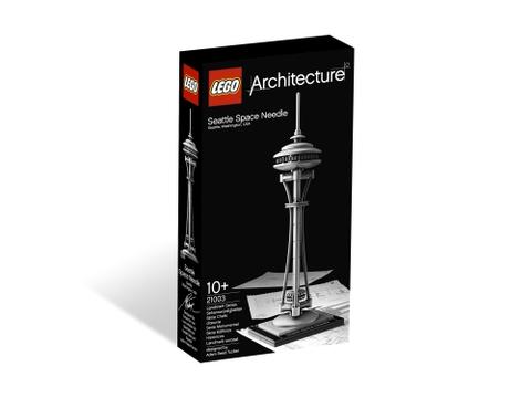 Vỏ hộp đựng sản phẩm Lego Architecture 21003 - Tháp Space Needle