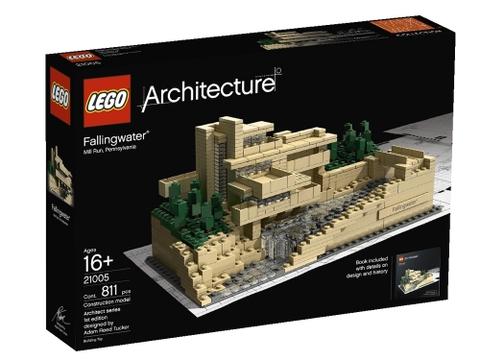 Vỏ hộp đựng sản phẩm Lego Architecture 21005 - Thác Nước Fallingwater