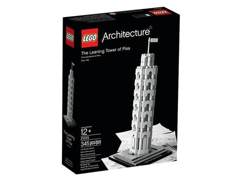Vỏ hộp đựng sản phẩm Lego Architecture 21015 - Tháp Nghiêng Pisa