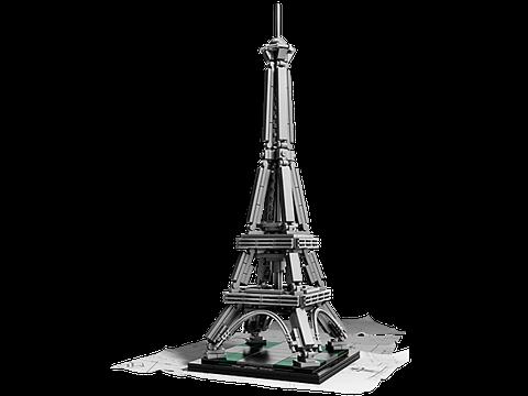 Mô hình Lego Architecture 21019 - Tháp Eiffel thiết kế tinh xảo