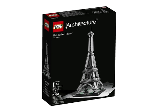 Vỏ hộp đựng sản phẩm Lego Architecture 21019 - Tháp Eiffel