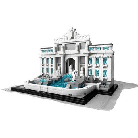 Bộ xếp hình Lego Architecture 21020 - Đài Phun Nước Trevi giúp bé tiếp xúc gần hơn với các địa danh nổi tiếng