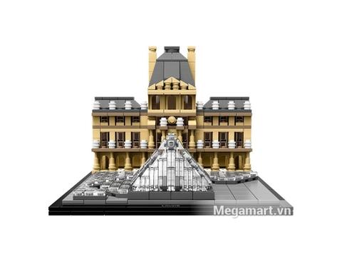 Viện bảo tàng Louvre lâu đời, cổ kính được mô phỏng lại qua bộ xếp hình Lego 21024