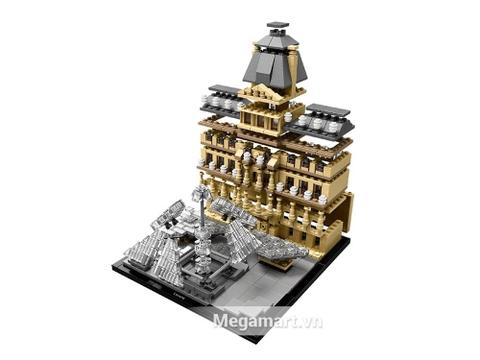 Với bộ xếp hình Lego Architecture 21024 - Viện bảo tàng Louvre sẽ bổ sung nhiều kiến thức và rèn luyện các kỹ năng cho bé