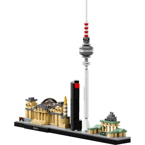 Trọn vẹn các chi tiết có trong bộ xếp hình Lego Architecture 21027 - Thành phố Berlin