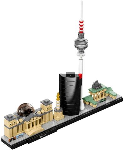 Bố xếp hình Lego Architecture 21027 - Thành phố Berlin mang đến cho bé những giờ phút vui chơi thực sự bổ ích