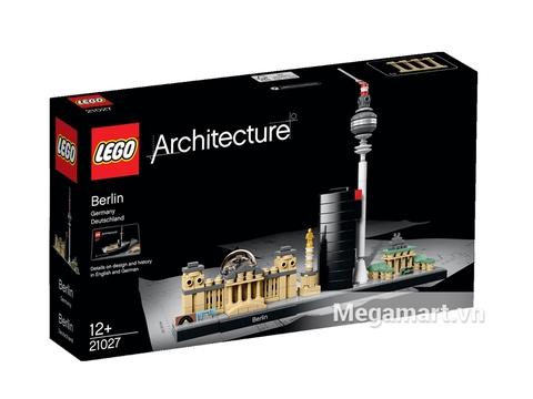 Vỏ hộp đựng sản phẩm Lego Architecture 21027 - Thành phố Berlin
