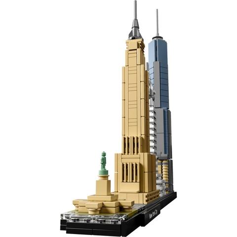 Cho bé vui chơi bổ ích, phát triển trí tuệ với bộ đồ chơi Lego Architecture 21028 - Thành phố New York