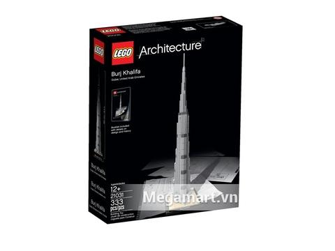 Hình ảnh vỏ hộp sản phẩm Lego Architecture 21031 - Tòa Nhà Chọc Trời Burj Khalifa