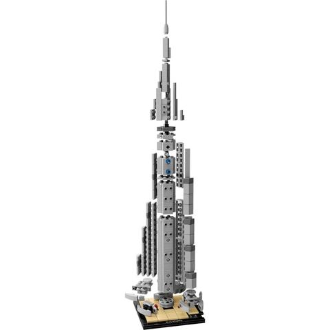 Bộ xếp hình Lego Architecture 21031 - Tòa Nhà Chọc Trời Burj Khalifa độc đáo