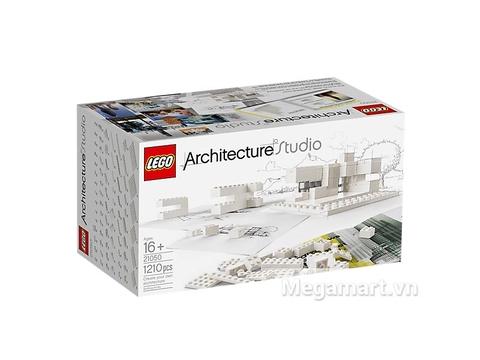Ảnh bìa sản phẩm Lego Architecture 21050 - Kiến Trúc Sư