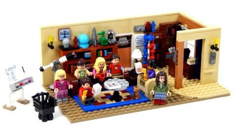 Lego Ideas 21302 - Bí mật vụ nổ Big Bang - toàn cảnh bộ đồ chơi