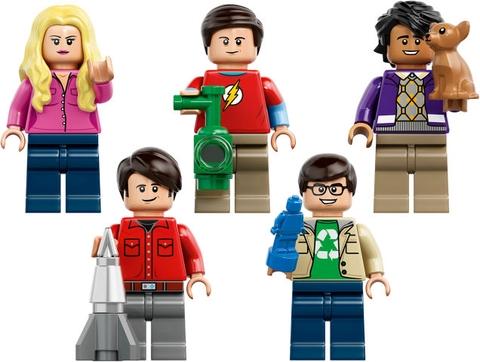 Lego Ideas 21302 - Bí mật vụ nổ Big Bang - mô hình nhân vật