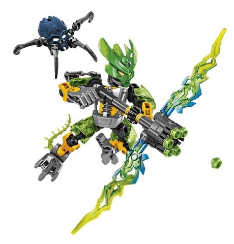 Mô hình Lego Bionicle 70778 - Hộ vệ rừng khi hoàn thành lắp ghép