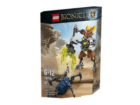 Hình ảnh vỏ hộp bộ Lego Bionicle 70779 - Hộ vệ đá